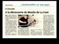 Article Nouvelle République 20 juin 2012 le moulin de la font la trimouille2