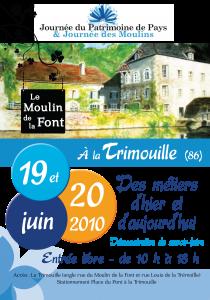 affichette A3 moulin 2010